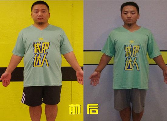 刘岸林减肥成功案例